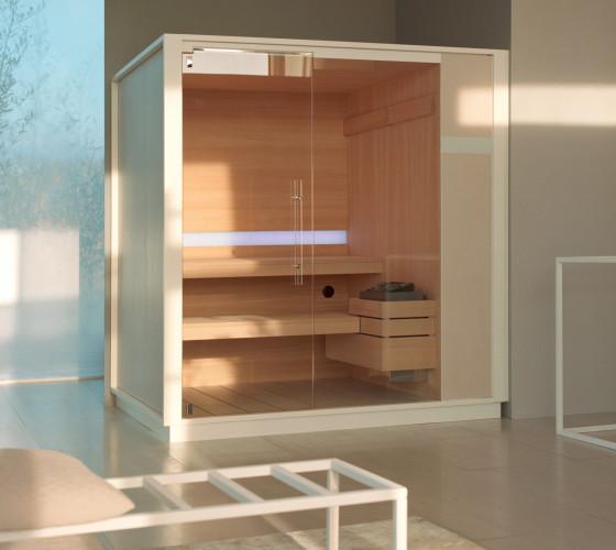 Production et vente de saunas finlandais effegibi - Sauna finlandais prix ...